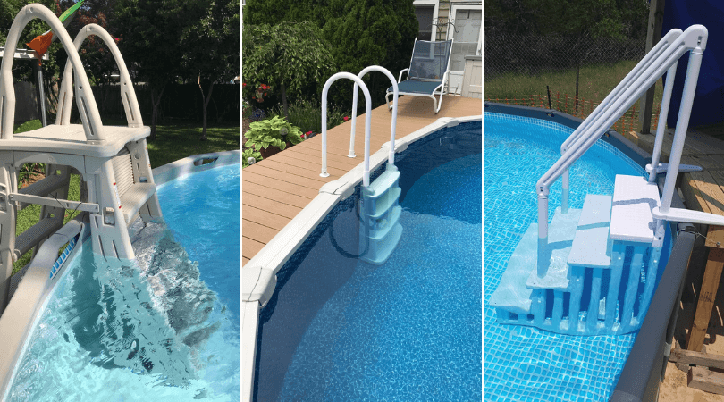 Above Ground Pool Ladder For Deck